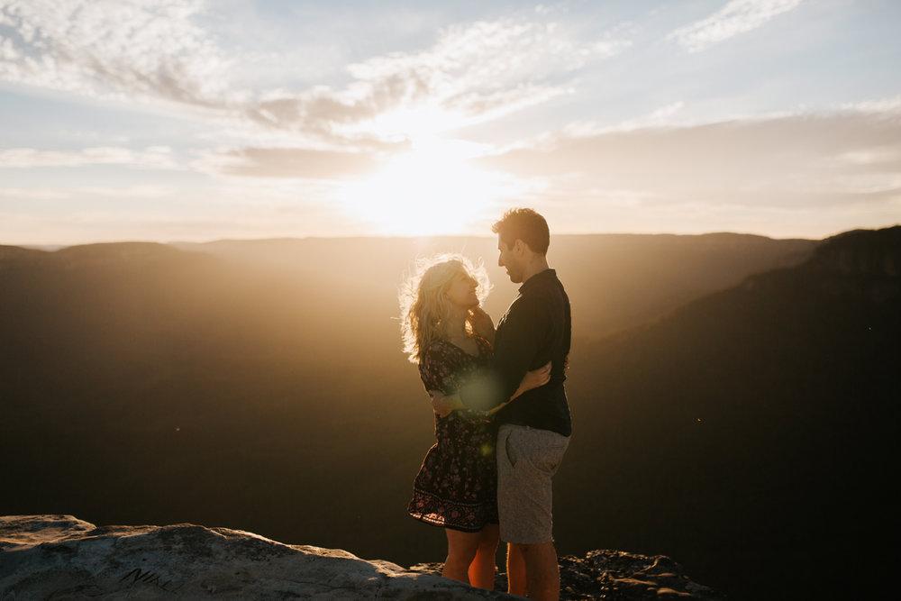 Emma & Ben - Blue Mountain Sunset Engagement - Samantha Heather Photography-79.jpg