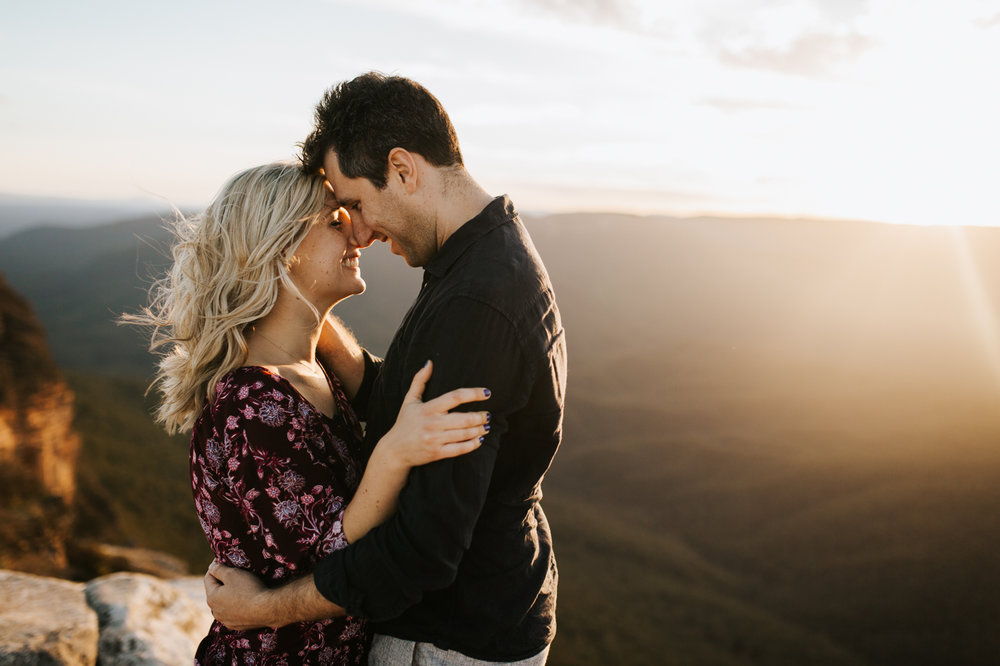 Emma & Ben - Blue Mountain Sunset Engagement - Samantha Heather Photography-90.jpg
