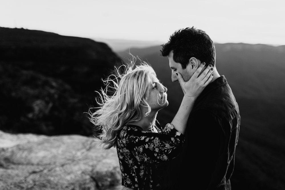 Emma & Ben - Blue Mountain Sunset Engagement - Samantha Heather Photography-92.jpg