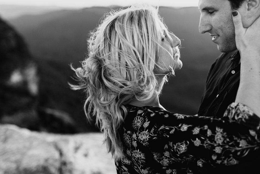 Emma & Ben - Blue Mountain Sunset Engagement - Samantha Heather Photography-94.jpg