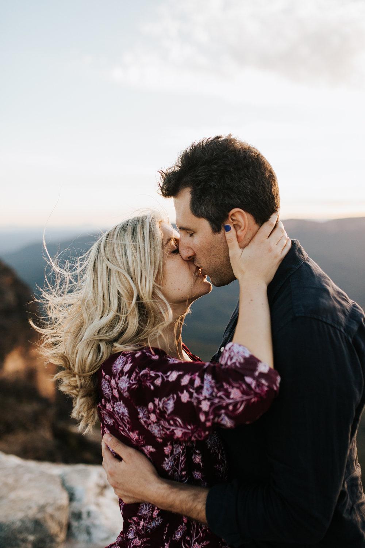 Emma & Ben - Blue Mountain Sunset Engagement - Samantha Heather Photography-93.jpg
