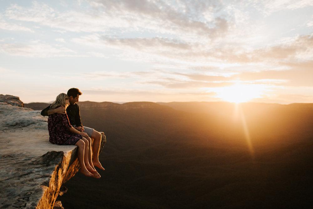 Emma & Ben - Blue Mountain Sunset Engagement - Samantha Heather Photography-99.jpg