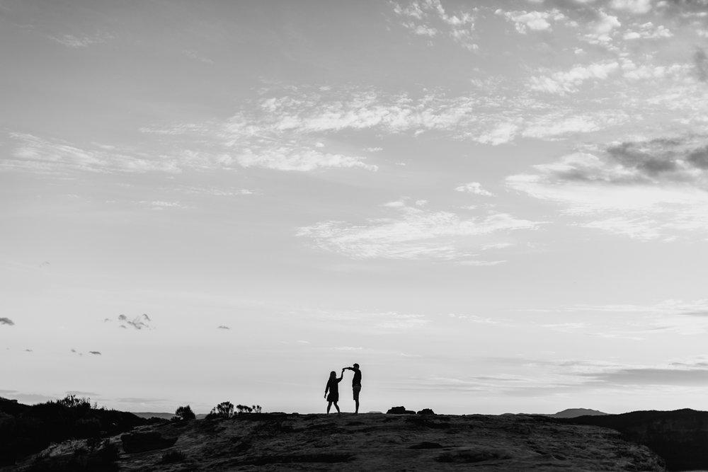 Emma & Ben - Blue Mountain Sunset Engagement - Samantha Heather Photography-102.jpg