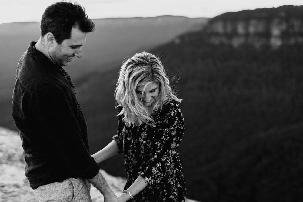 Emma & Ben - Blue Mountain Sunset Engagement - Samantha Heather Photography-113.jpg
