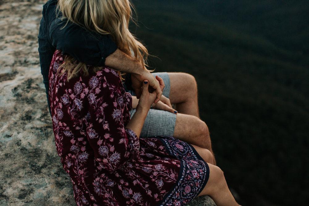 Emma & Ben - Blue Mountain Sunset Engagement - Samantha Heather Photography-116.jpg