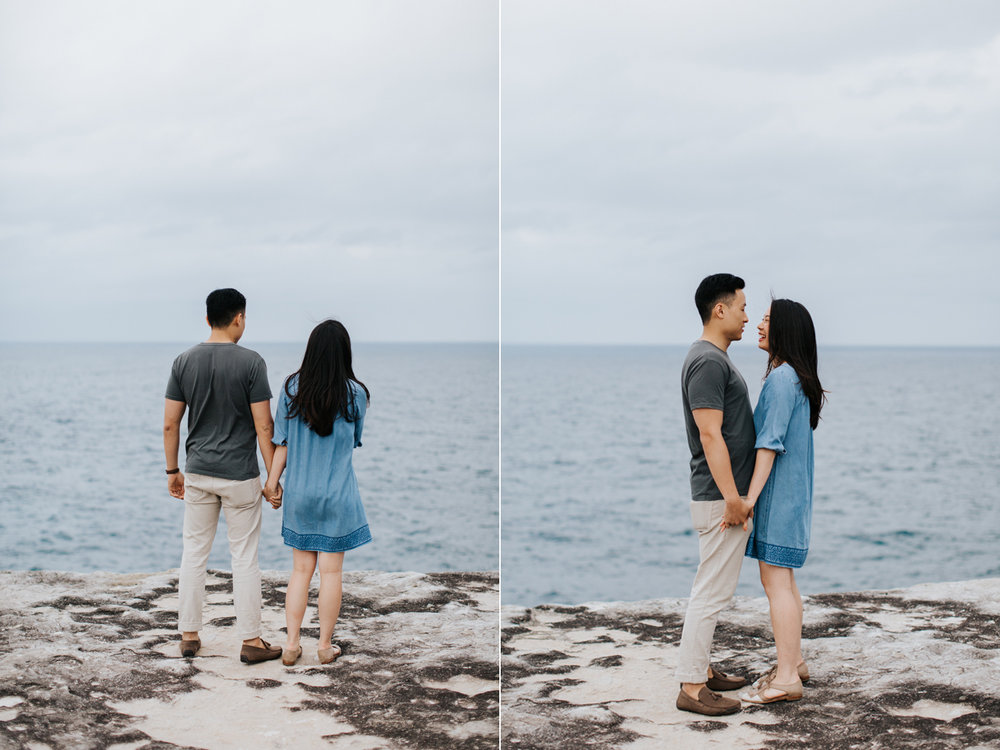 Lishien & Jason Engagement - Kurnell Cliffs - Samantha Heather Photography-11.jpg