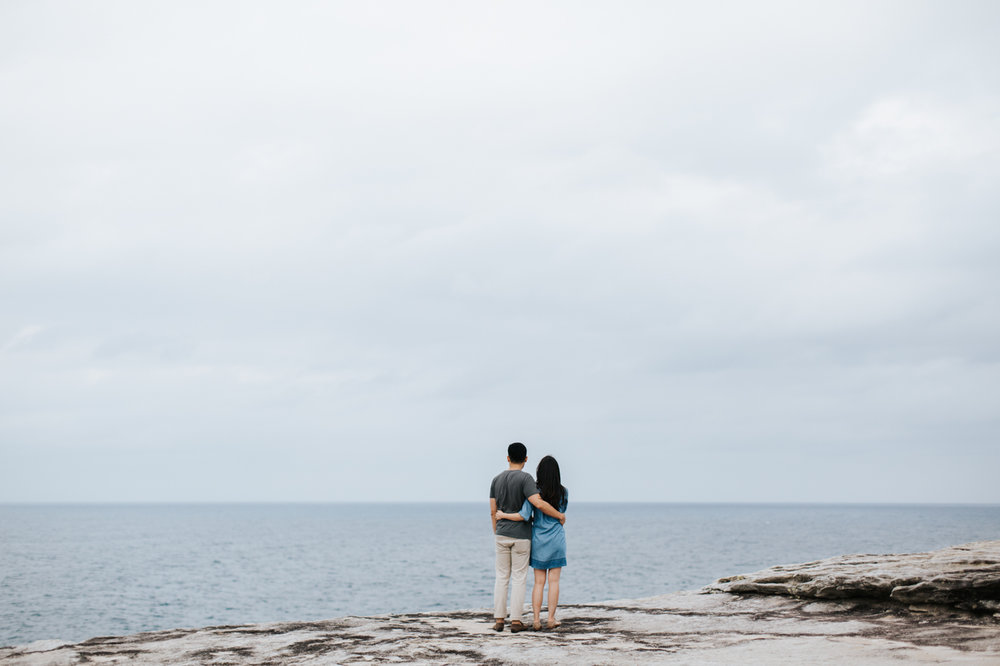 Lishien & Jason Engagement - Kurnell Cliffs - Samantha Heather Photography-15.jpg
