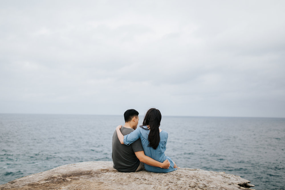 Lishien & Jason Engagement - Kurnell Cliffs - Samantha Heather Photography-25.jpg