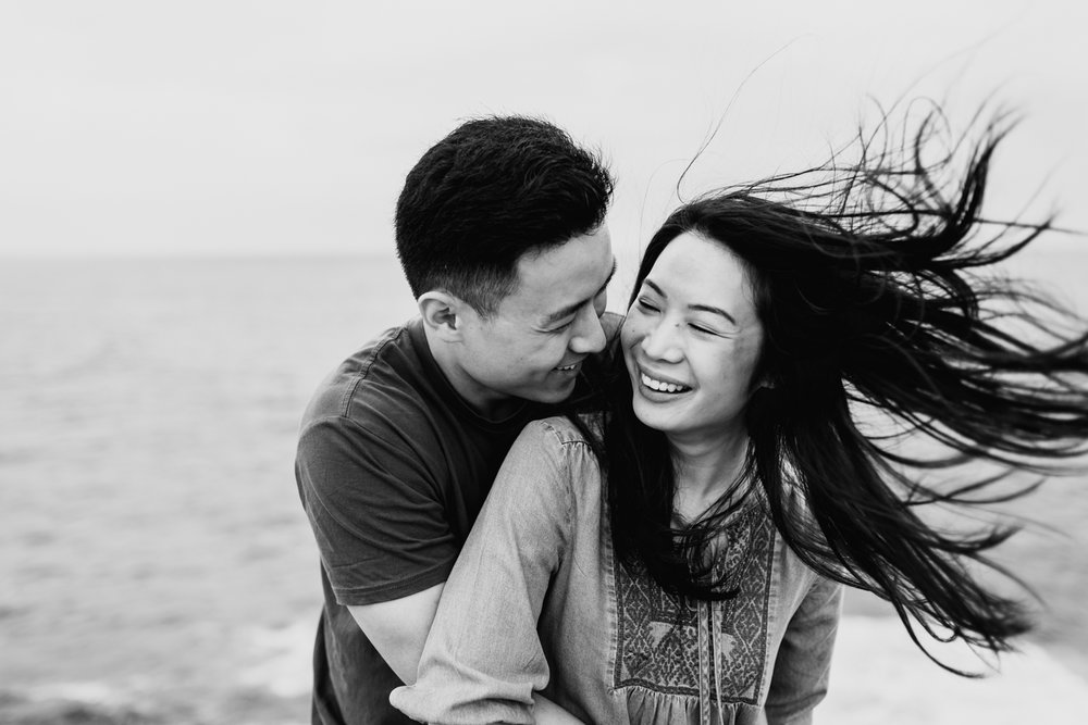 Lishien & Jason Engagement - Kurnell Cliffs - Samantha Heather Photography-32.jpg