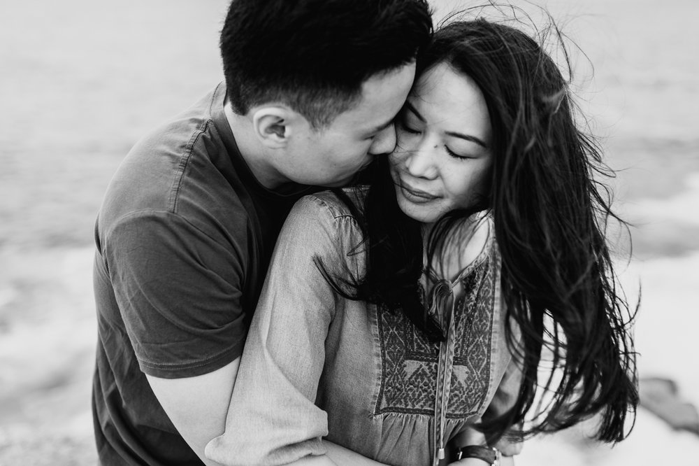 Lishien & Jason Engagement - Kurnell Cliffs - Samantha Heather Photography-33.jpg