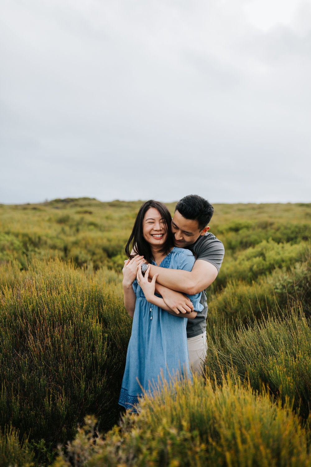 Lishien & Jason Engagement - Kurnell Cliffs - Samantha Heather Photography-51.jpg