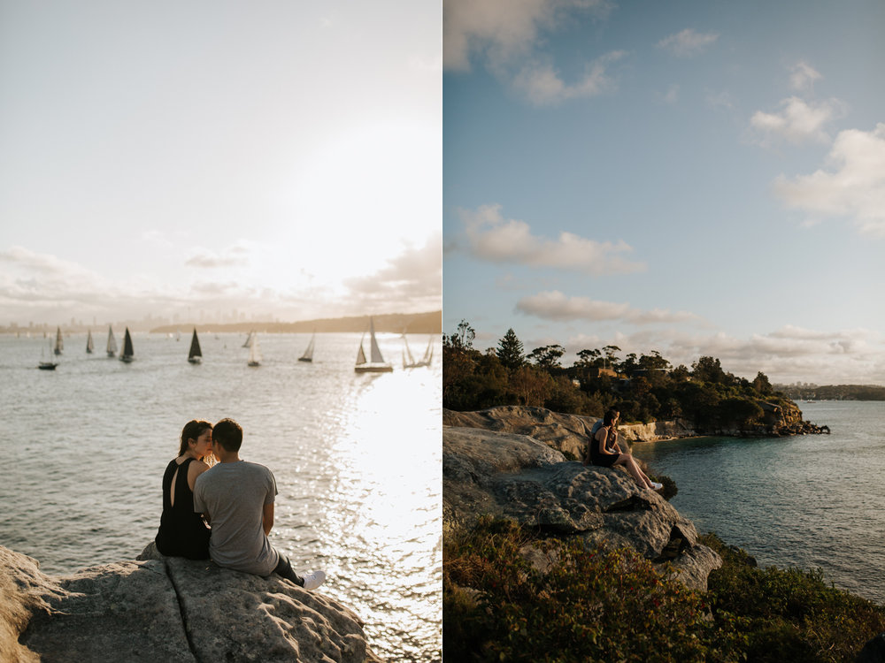 James & Caitie Engagement - Watsons Bay - Samantha Heather Photography-44.jpg