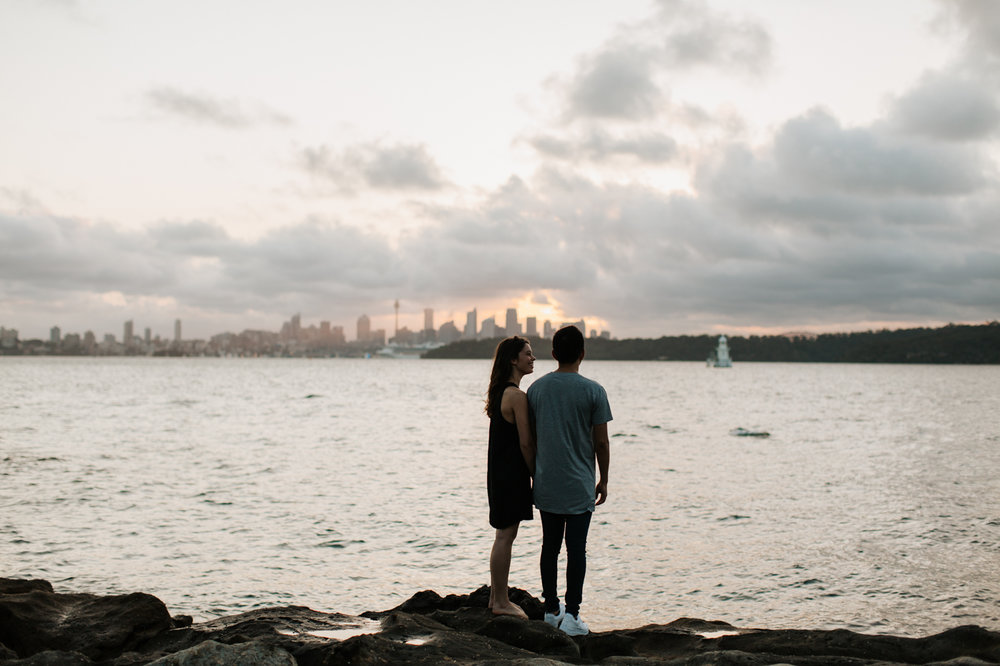James & Caitie Engagement - Watsons Bay - Samantha Heather Photography-75.jpg
