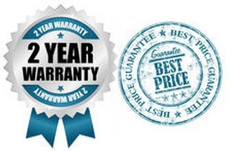 2 Year Warranty and Best Price Guarantee on Comparative Quote