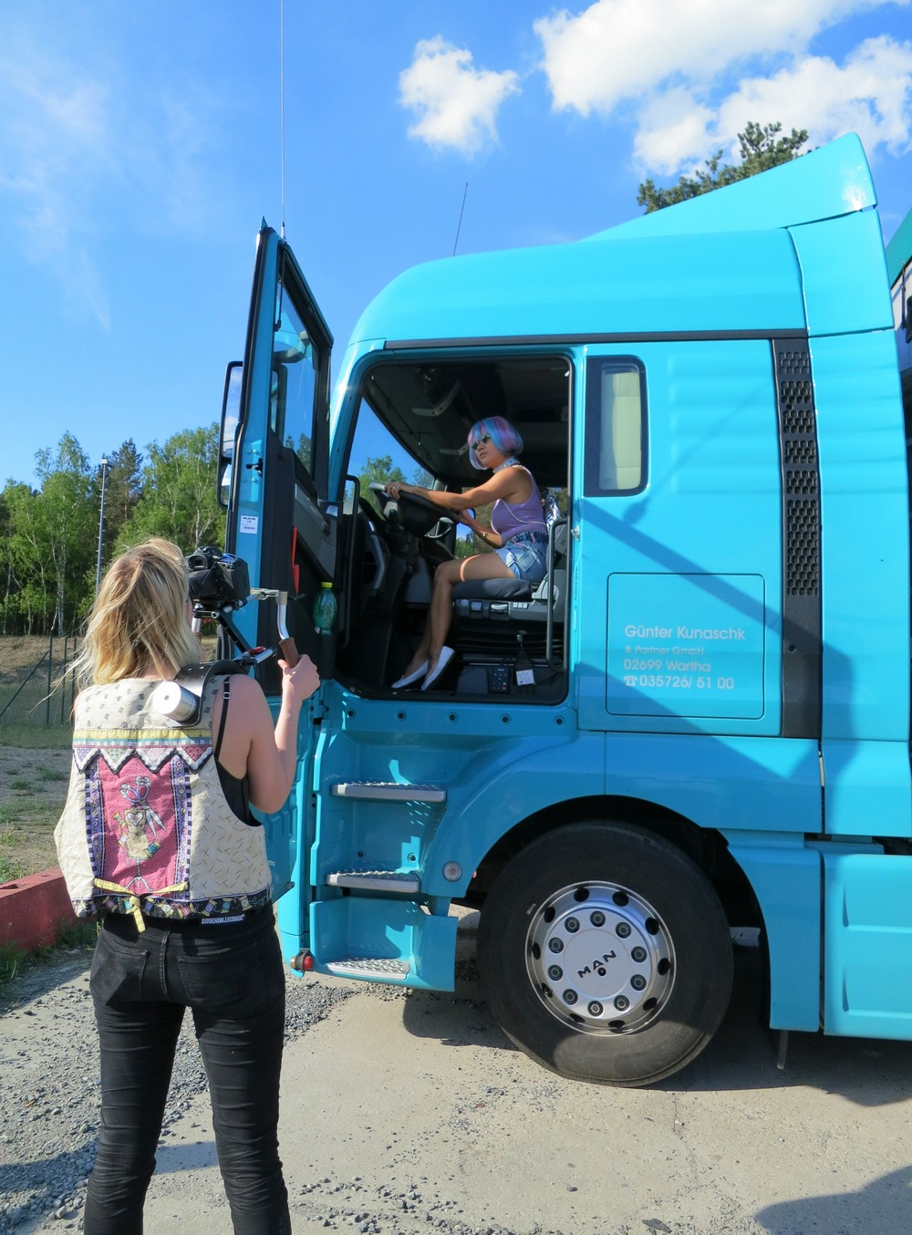 Drivin' truck