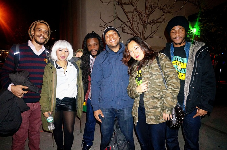 Suns of Dub family recently at the FAM benefit concert in New York City for Typhoon Haiyan
