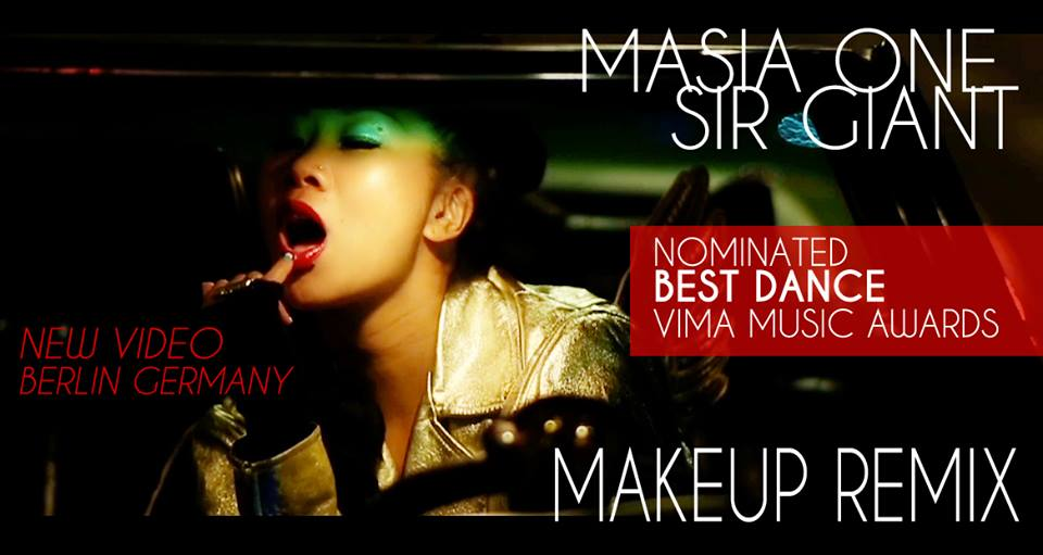 Makeup Nominated best dance single VIMA 2014