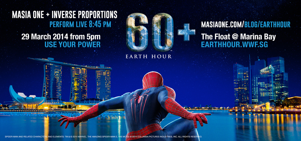 Check out Earth Hour's Facebook Events Page