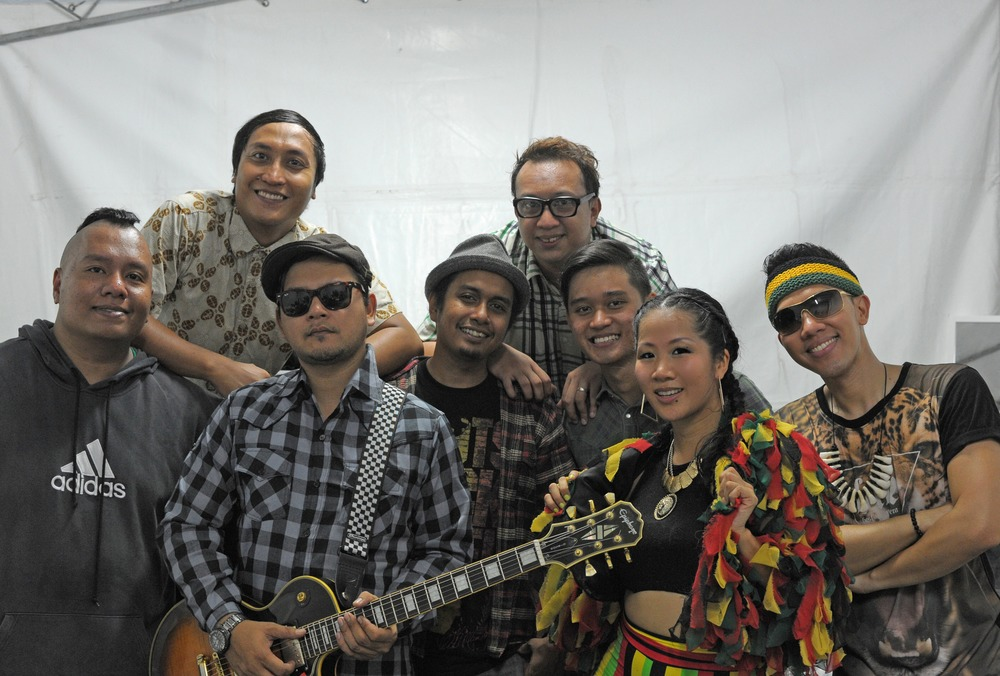 "Masia One & ""The Irietones"" Singapura Reggae, Dancehall & Hiphop"