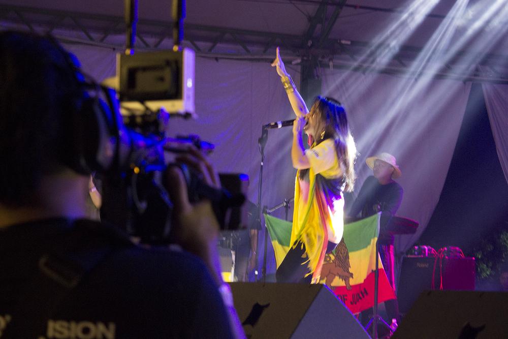 Lion of Judah pon' di stage inna Sarawak, Malaysia