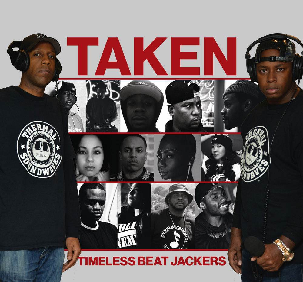 """Thermal Soundwaves presents: Timeless Beat Jackers"" brought to you by the Radio Boys (C.Truth, Kev Lawrence) pays tribute to some of their favorite hip hop beats featuring artists who've appeared on the Thermal Soundwaves Show. credits released 17 January 2014  Recorded at: Rhythm & Rhyme Studios by Desmond Walker  Pharoah Gamo Studios by NDL  Special Thanks to: Crazy DJ Bazarro, Kevin Lawrence, C.Truth, Napoleon Da Legend, M.Reck, ForbesDVD, Doggie Diamonds, E-Turn, SPS, Narubi Selah, Masia One, Traum Diggs, D-Nasty, S.I.N, D-Rock, Sour Life Phoenix, Shabaam Sadeeq, Ralph McDaniels, Joey Eyefuel, Video Music Box, DJ Stokes, Kwame Vear, Priest Forever, Equilbrium Radio, Sara Rip, Big Ced, Industry Co-Sign, Pete Rock, Diamond D, Fredro Starr, Large Professor, Ski Beatz, Salaam Remi, Mobb Deep, Ty Fyffe, Trackmasters, Netousha Monroe tags tags: hip hop hip-hop/rap r&b r&b soul reggae-dancehall-hip hopcompilation music radio rap reggae soca songs soulthermalsoundwaves New York"
