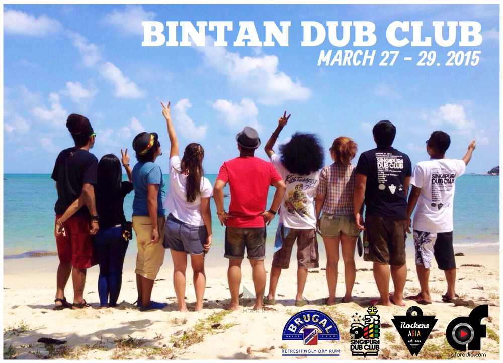 Irietones X Zionway dreaming of the possibility of a Bintan Dub Club months ago.