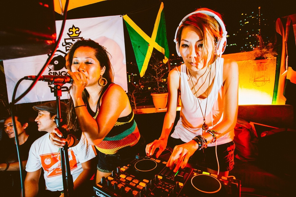 Masia One X DJ Reiki at August 2015 Singapura Dub Club.