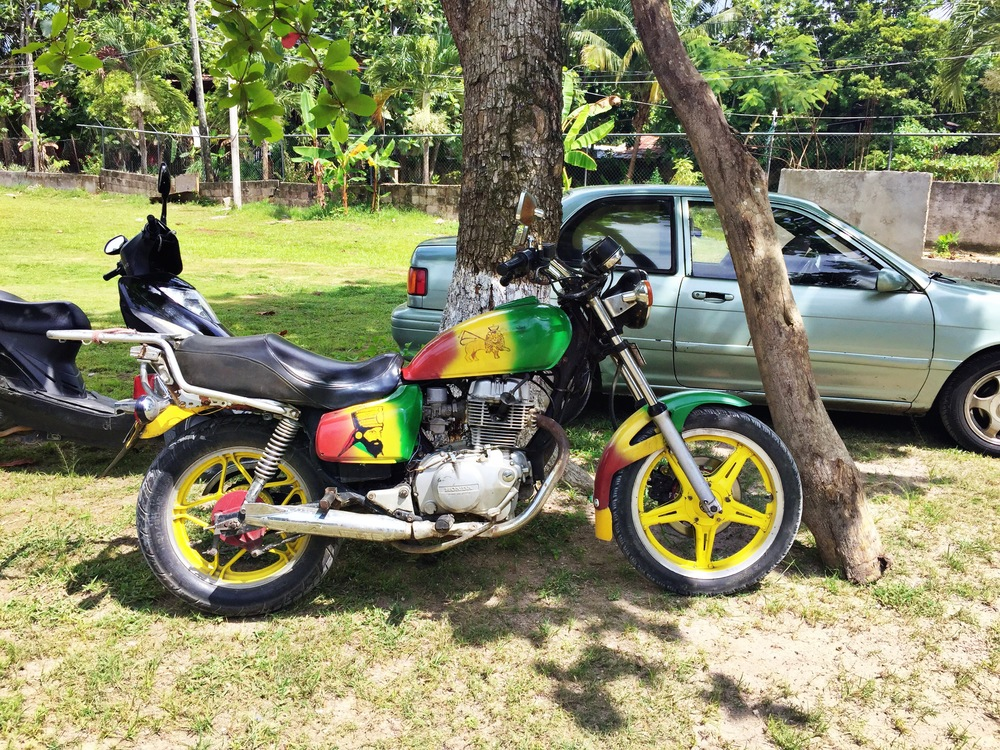 Rasta Man bike ala Cool Runnin'