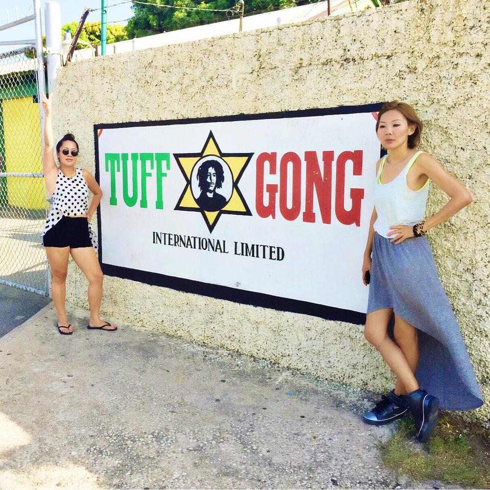 Singapore gyal dem at Tuff Gong