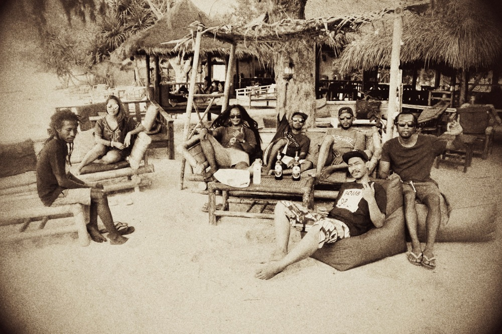 A moment in time at Pura Vida, Gili Air with Yella Sky Soundsystem & Jah On Holiday