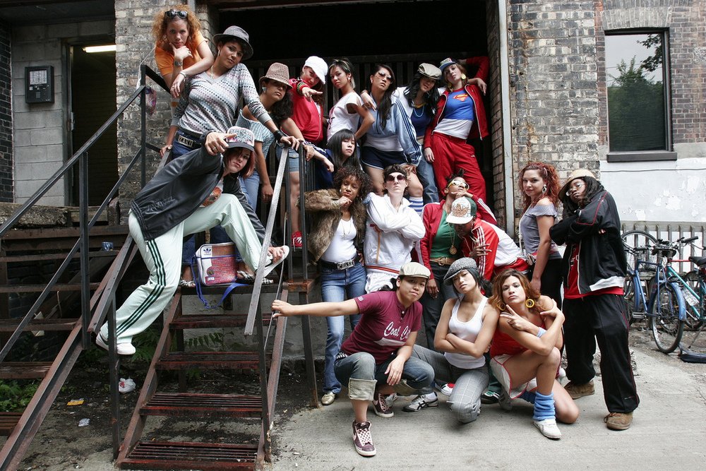 Portrait of Females in Hiphop (Toronto), photo Che Kothari