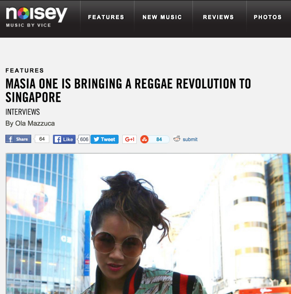 Noisey story on my hope for more Reggae music in SE Asia