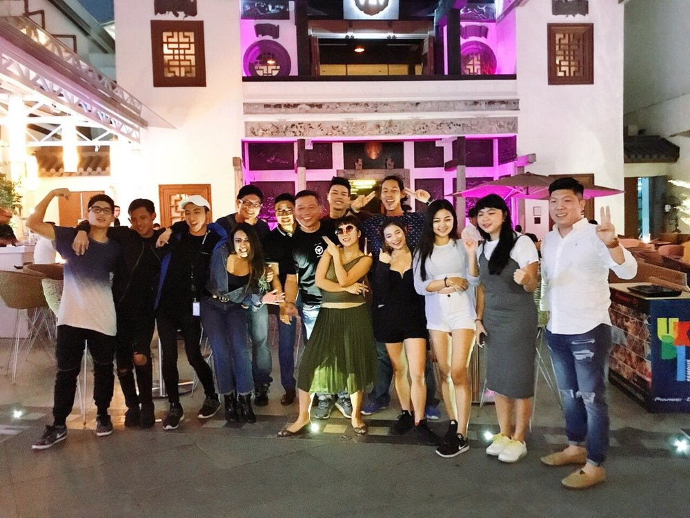 "Contestants for Pioneer SIngapore's 2017 ""Mix Us Happy"" competition"