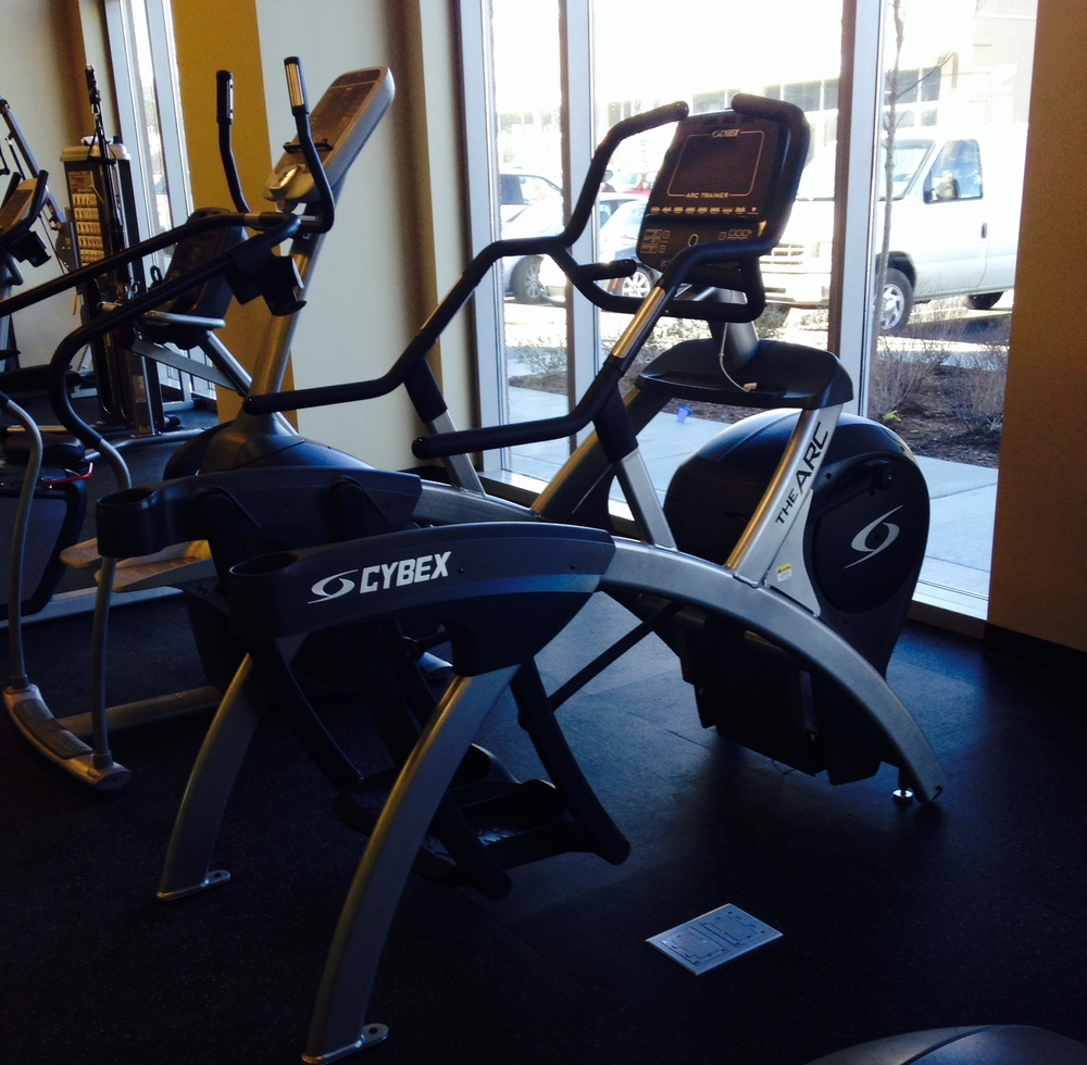 A reconditioned Cybex Arc Trainer for one of our corporate wellness customers.