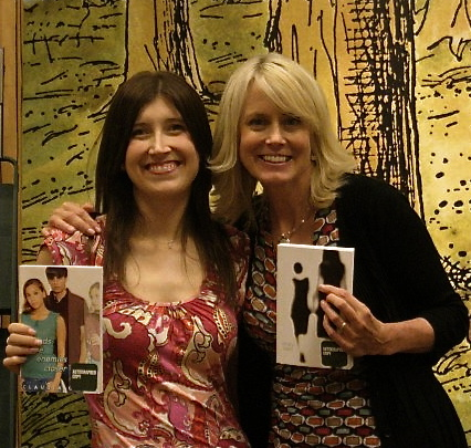 Our first book signing together at a Barnes & Noble in Bethesda, MD