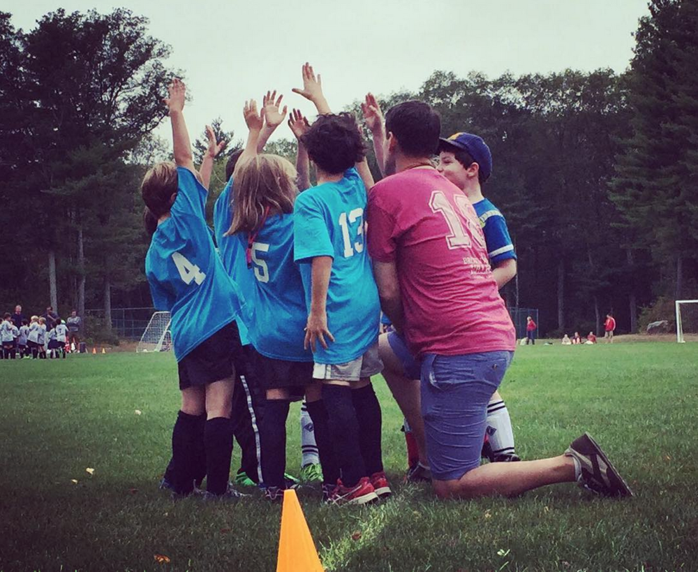 Took home another win this morning with the blue hawks! Share your own high-five moment with #WAD2015 to help me + @elilillyco spread the love on World Arthritis Day 2015. #ad #WADHigh5 #lovemylife