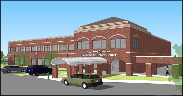 Roanoke Chowan Community Health Center RENDERING.JPG