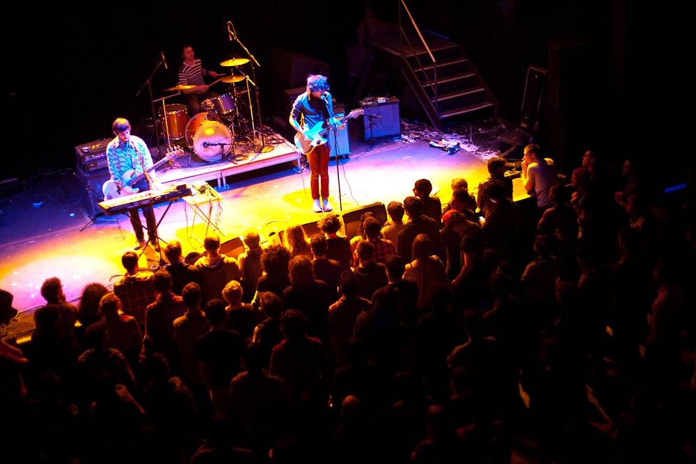 epic croud.. opening for Titus Andronicus at Music Hall of Willamsburg.