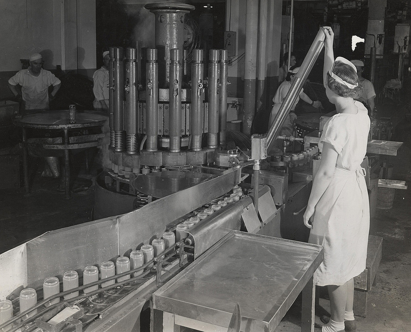 Beech Nut Packing Company c. 1946 Courtesy  Penn State Special Collections