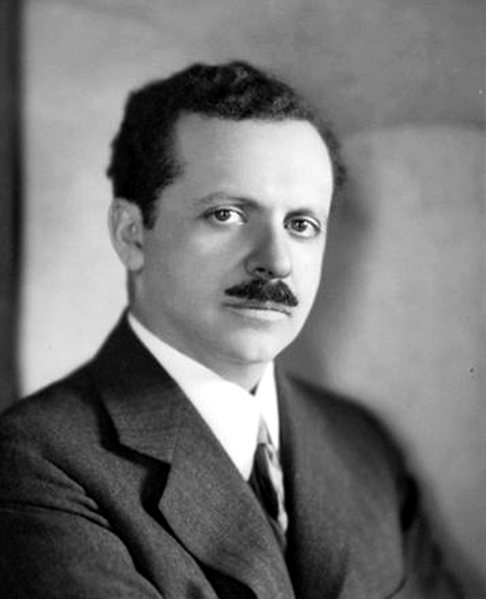 A young Edward Bernays with an admirably dapper mustache.