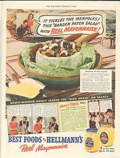 Hellman's: It tickles the menfolks!