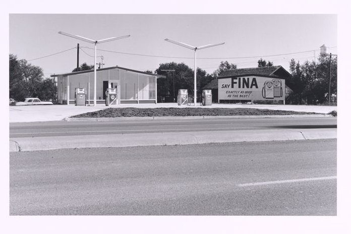 "When mixed with high-quality pure spirits, Fries & Brothers claimed that its flavoring essences would give ""the most perfect imitation of the natural products."" ""Say Fina... Exactly As Good As the Best!"" From Ed Ruscha's Twenty Six Gasoline Stations."