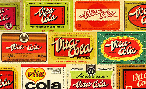 6b70f9e8f ... DDR's answer to the Coca-Cola and its smooth inducements to global  capitalist hegemony. I'd like to buy the world a Coke… Vita Cola gave East  Germans ...