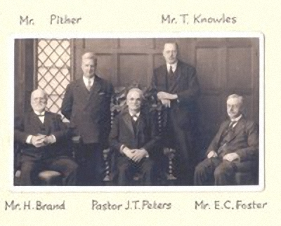 Church leaders in the early 1900s