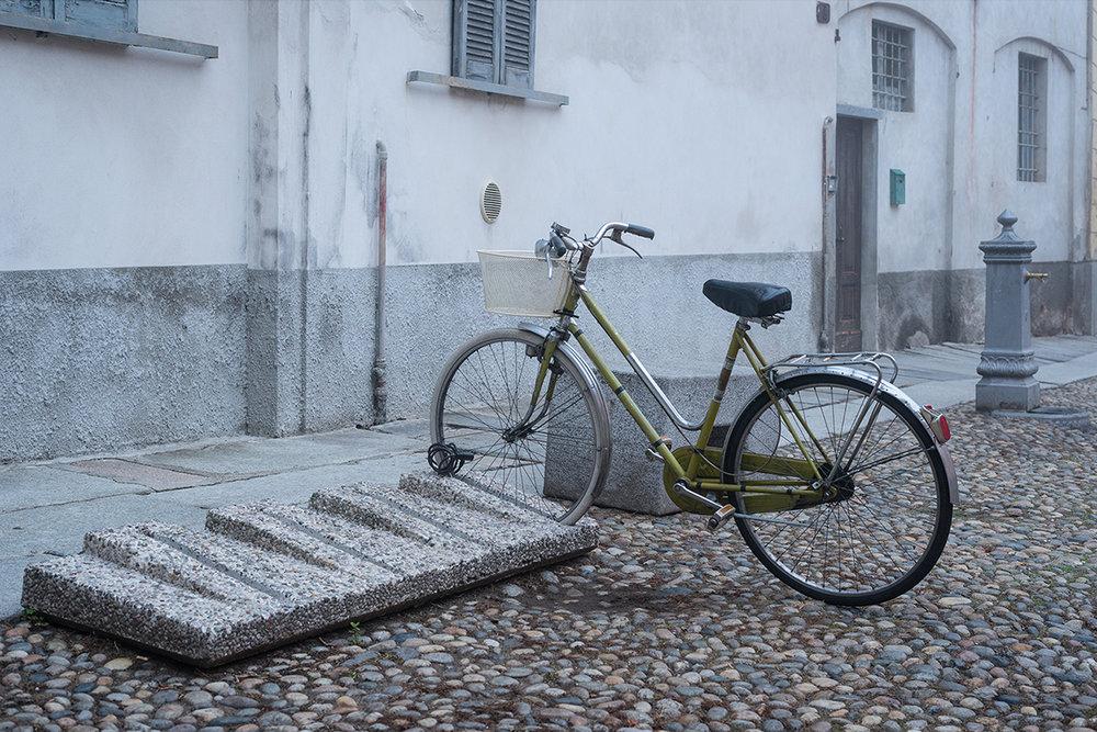 Bicycle at Pavia