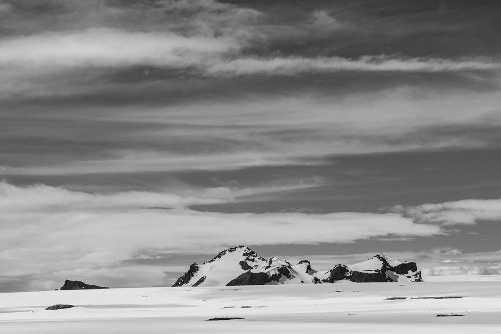 The Long Glacier. Langjokull. Iceland