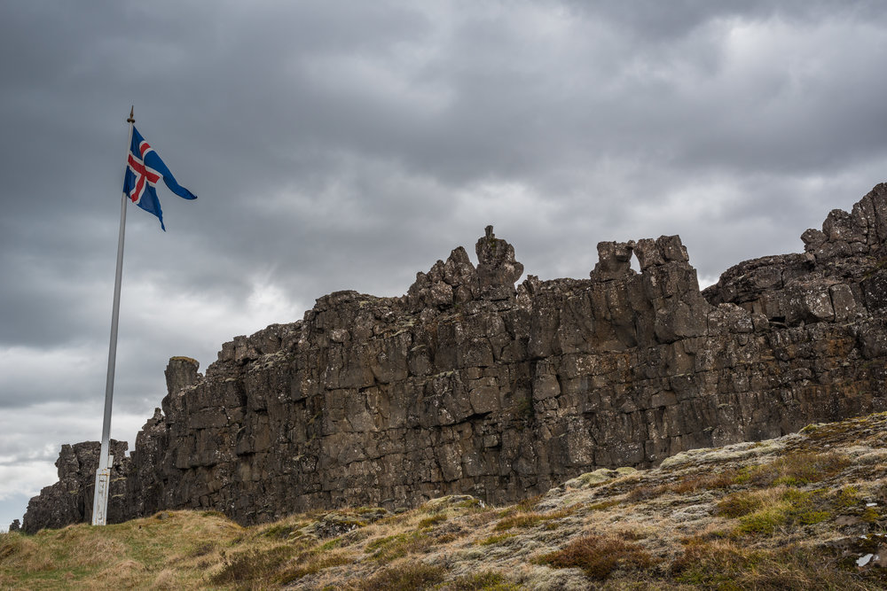 Thingvellir National Park. Iceland