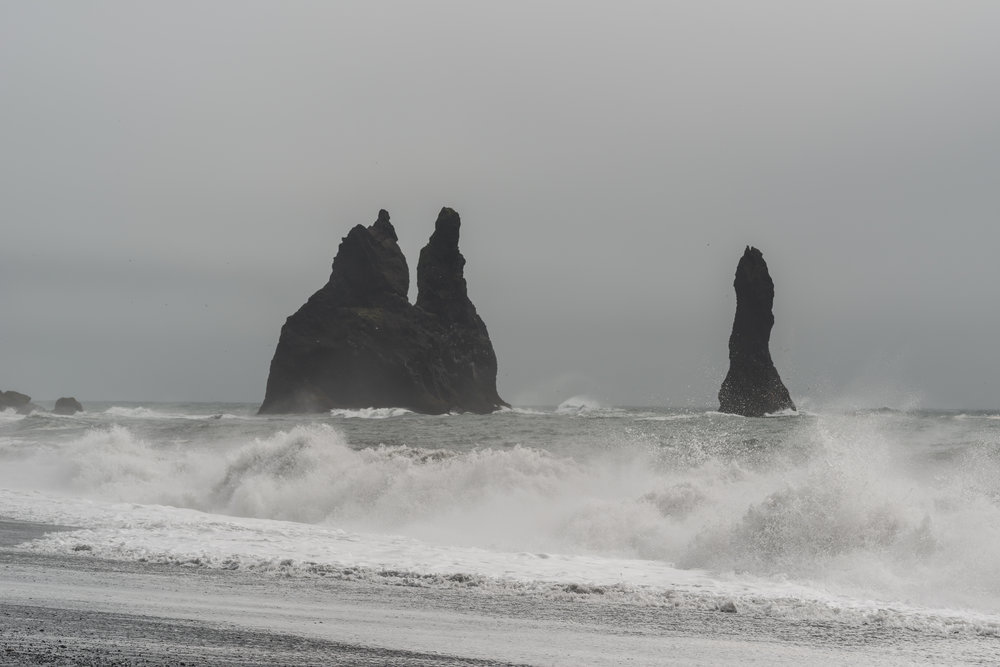 Reynisfjara Beach, Black Beach, Vik Iceland