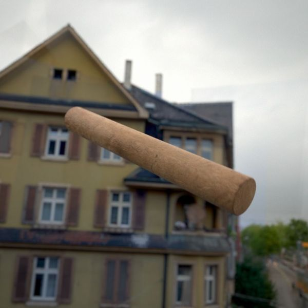 "Final result: A photorealistic render of a throwing stick from the swedish game called "" Kubb "". The images below show the different steps needed to create this render."