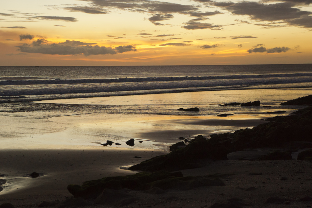 Sunset in Playa Catalina,Nicaragua